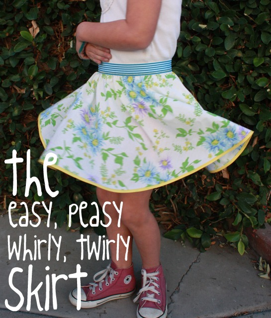 7 free girls' skirt patterns to sew at home.
