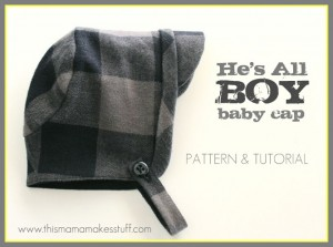 baby boy cap tutorial