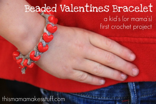 pin it - Valentines Day Bracelet