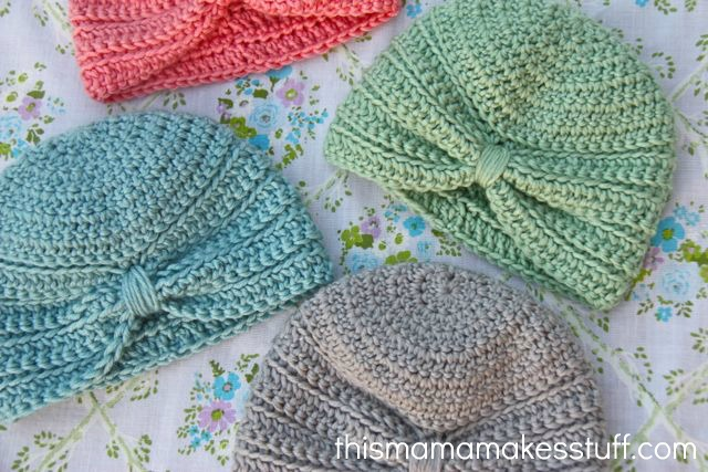 Crochet Baby Turban Pattern Tutorial This Mama Makes Stuff
