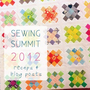 sewing Summit recap