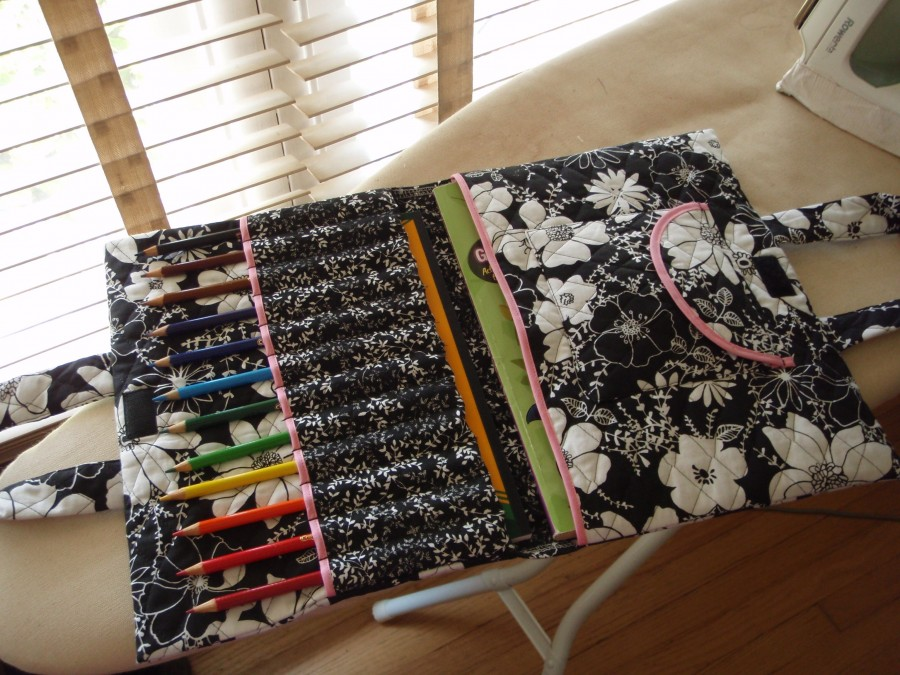 On-the-go Art Case sewing instruction Step 11