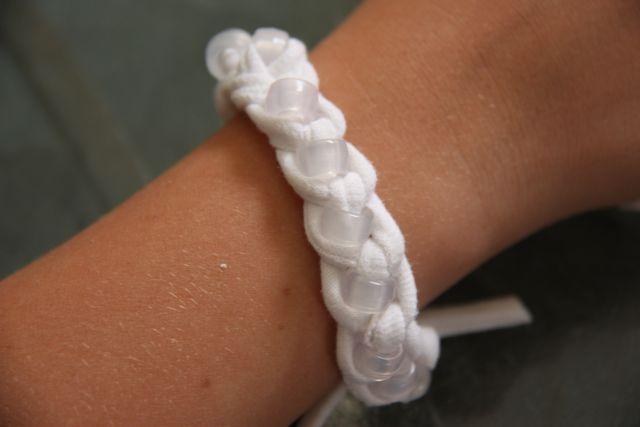 Now you've got a finished bracelet.